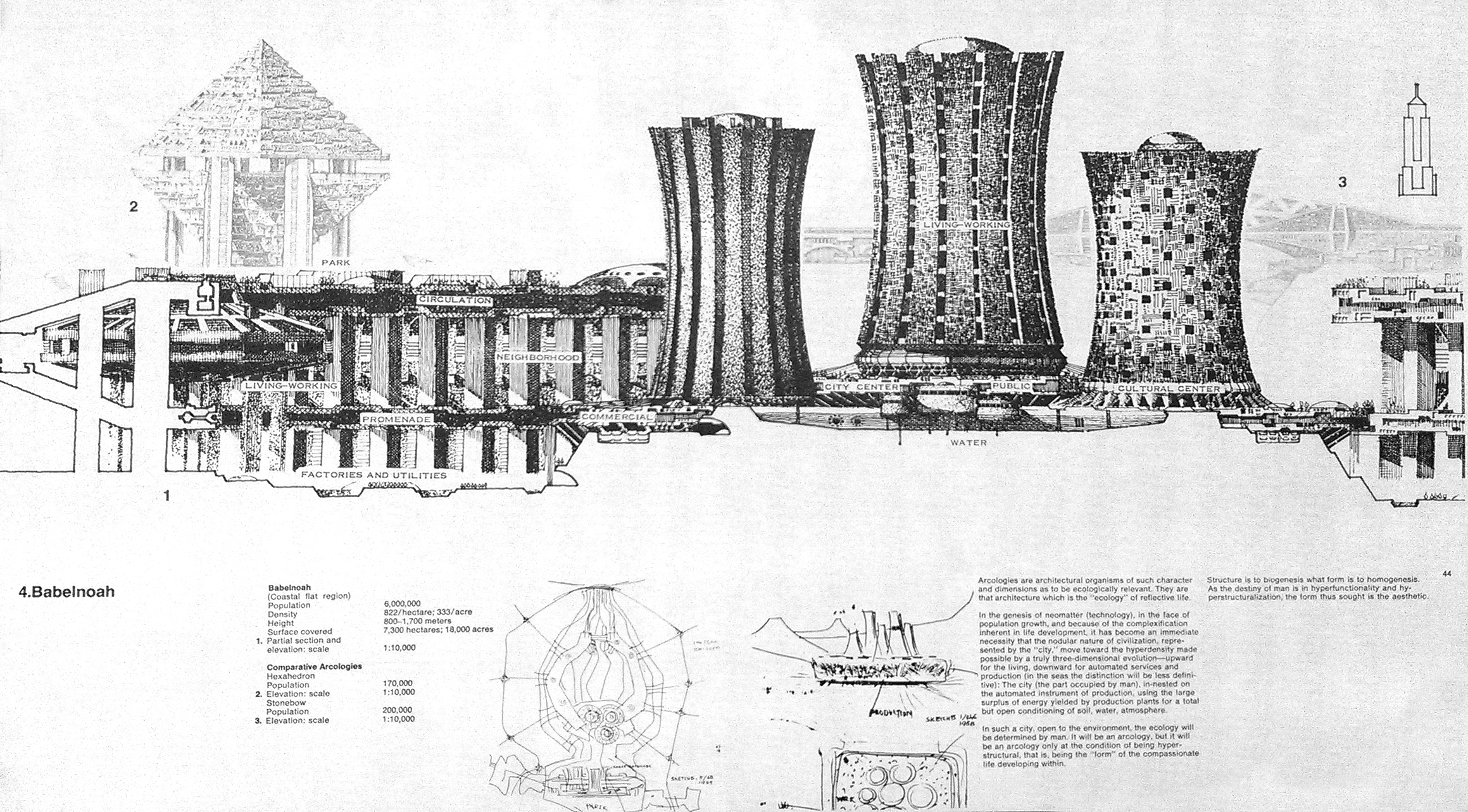 "Arcology - The City In The Image Of Man"" by Paolo Soleri"