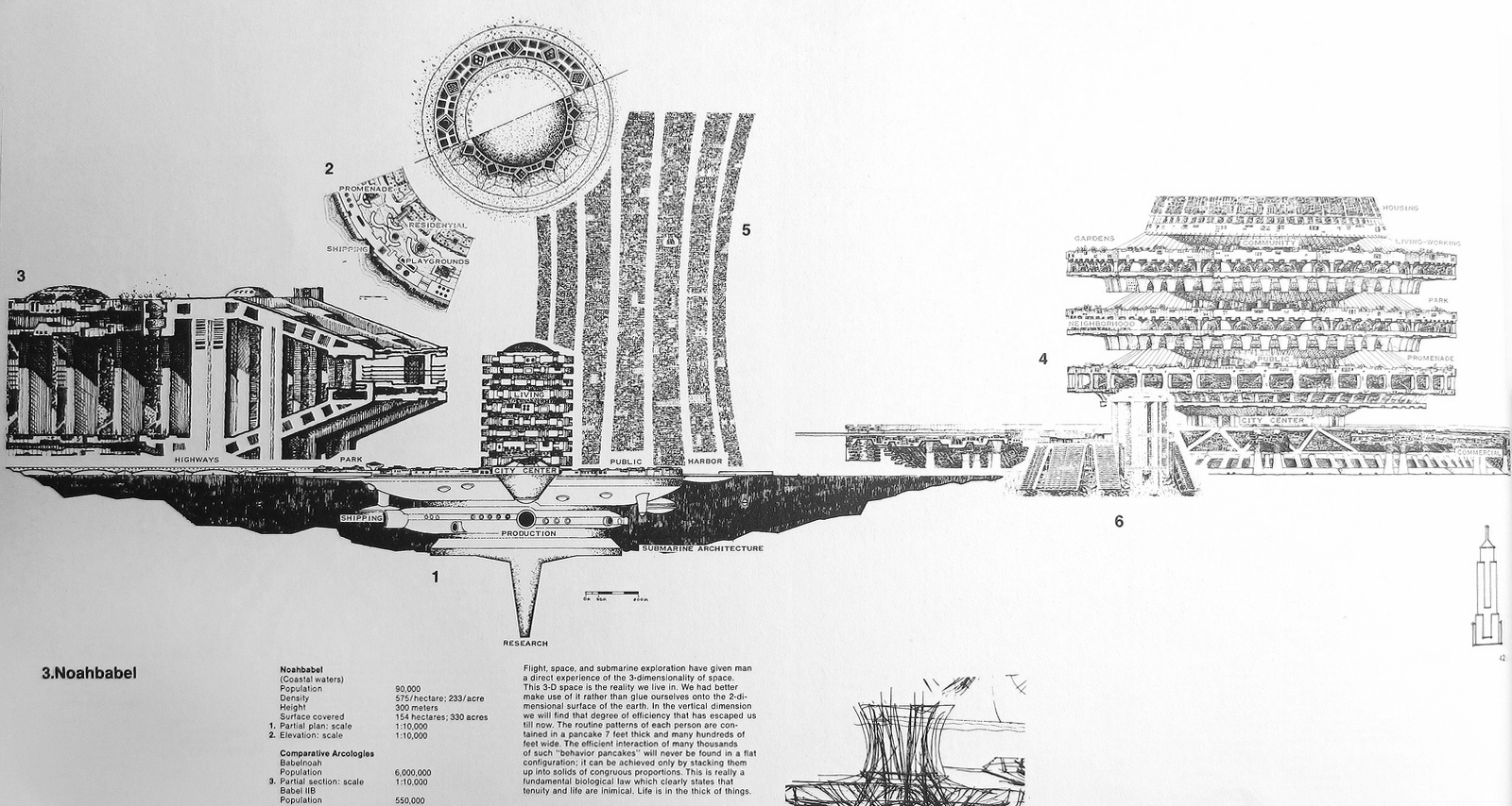 "Arcology - The City In The Image Of Man"" by Paolo Soleri (Complete Book)"